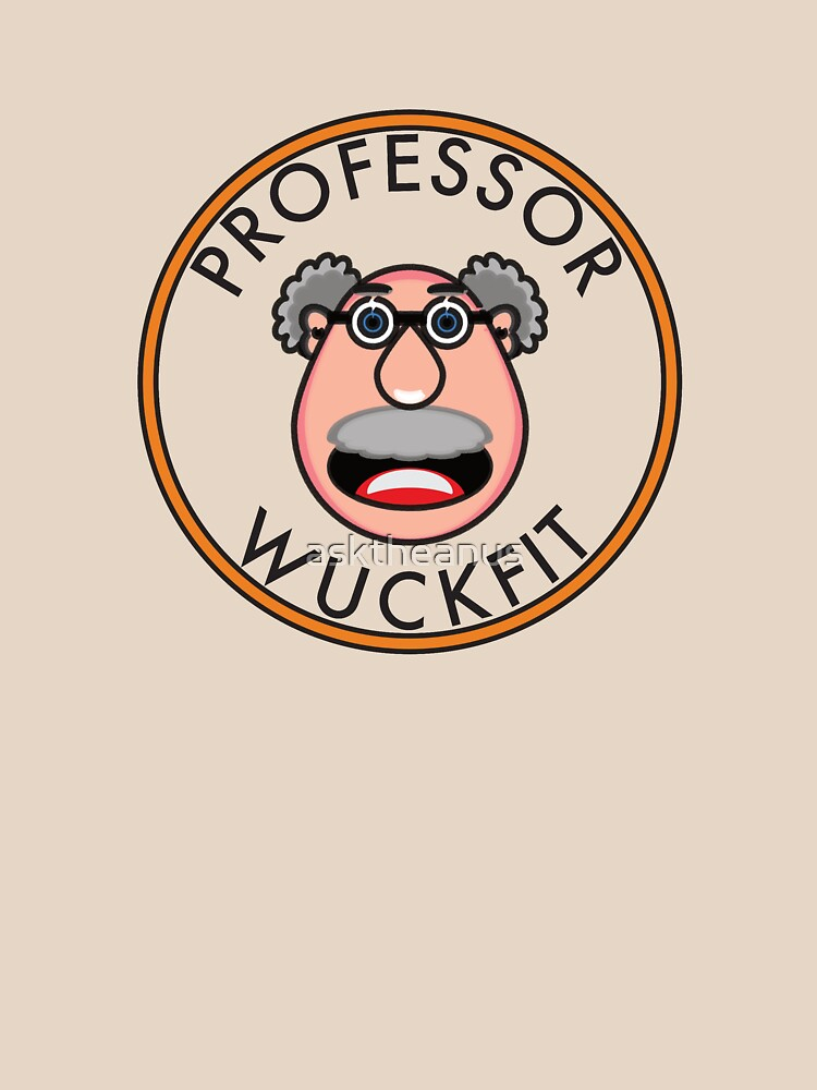 Professor Wuckfit - the Official Logo by asktheanus