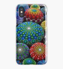 Jewel Drop Mandala Stone Collection #1 iPhone Case