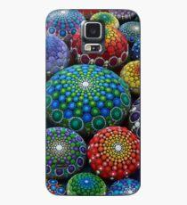 Funda/vinilo para Samsung Galaxy Jewel Drop Mandala Stone Collection # 1