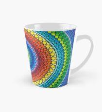 Happy Rainbow Mandala Tall Mug