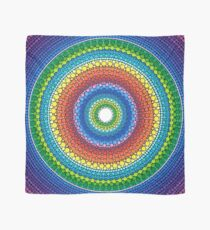Happy Rainbow Mandala Scarf