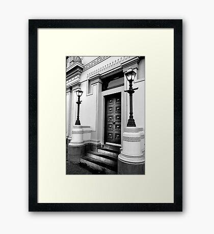 Sale Courthouse Framed Print