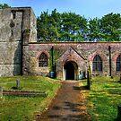 """St Cuthbert, Burton Fleming: Old English Style"" by Bradley Shawn  Rabon"
