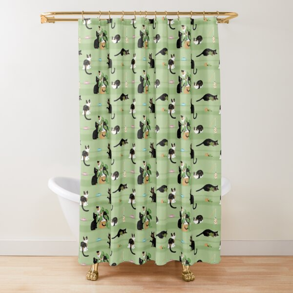 ★ Spooky and Dally ★ Shower Curtain