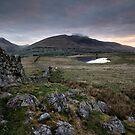 Tewet Tarn Sunrise by Phil Buckle