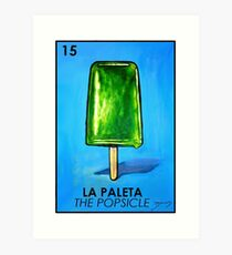 picture relating to Free Printable Loteria Cards titled La Loteria Artwork Prints Redbubble