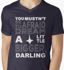 Musn't Be Afraid Men's V-Neck T-Shirt