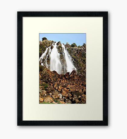 Waratah Falls Framed Print