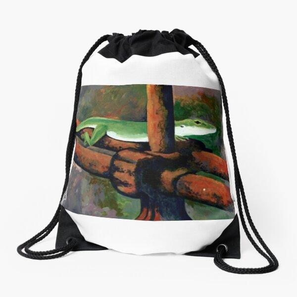 Sunbathing  Drawstring Bag