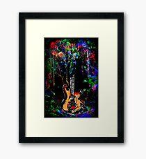 guitar.... Framed Print