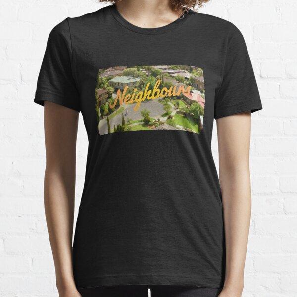 Logotipo Clásico de Vecinos Camiseta esencial