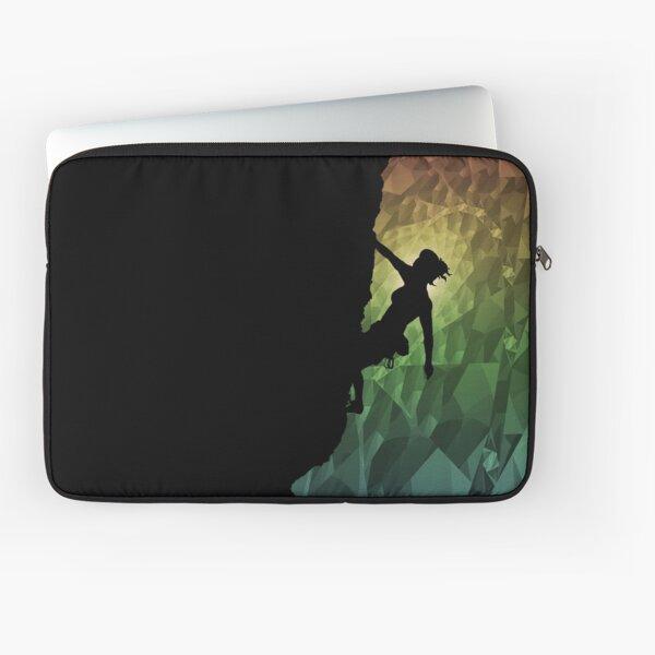 klettern den Regenbogen Laptoptasche