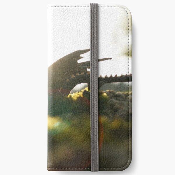 Dragonlet in sunbeam iPhone Wallet