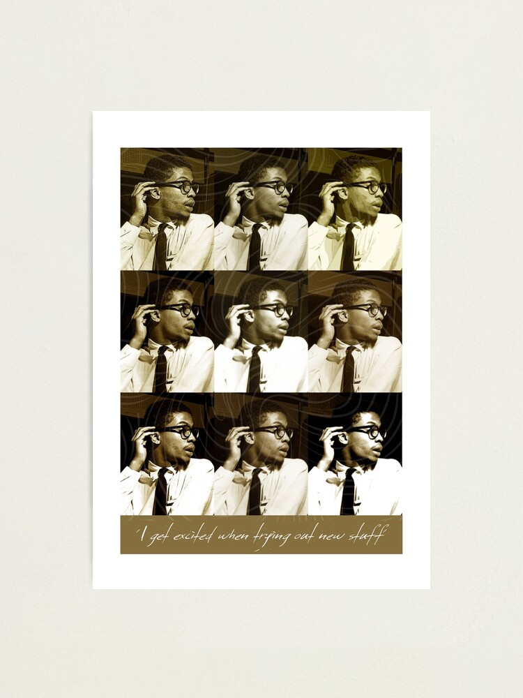 Alternate view of Jazz Heroes Series - Herbie Hancock Photographic Print