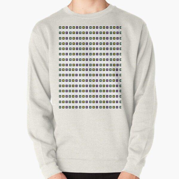 Tiles - Multi-colored Pullover Sweatshirt
