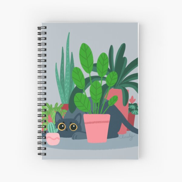 House panther Spiral Notebook