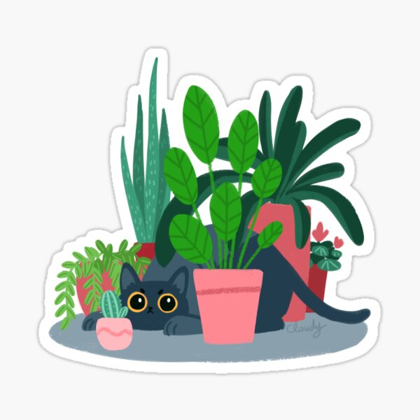 House panther Sticker