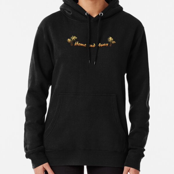 Retro Home And Away Logo Pullover Hoodie