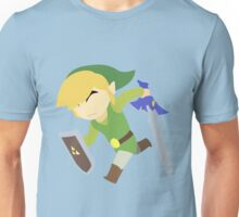 The Legend of Zelda: Wind Waker   Minimalist Unisex T-Shirt