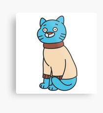 Gumball Watterson - The Amazing World of Gumball Metal Print
