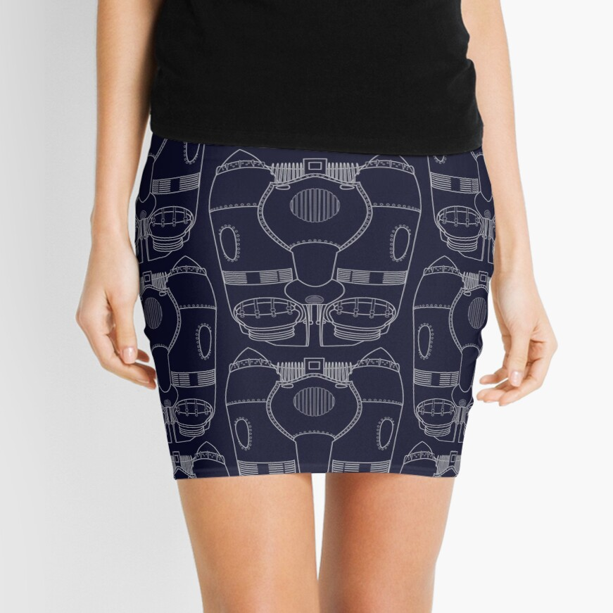 Rocketeer Rocket Jetpack Schematics  Mini Skirt