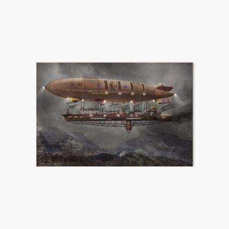 Steampunk - Blimp - Airship Maximus  Art Board Print