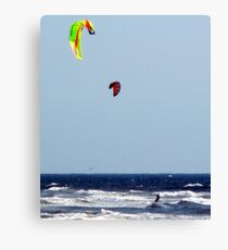 Water, Wind and Sky Blue Canvas Print