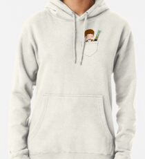 Pocket Who! (Eleventh Doctor) Pullover Hoodie