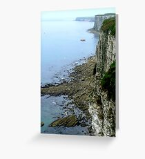 Bempton Cliffs  -  East Yorkshire Greeting Card