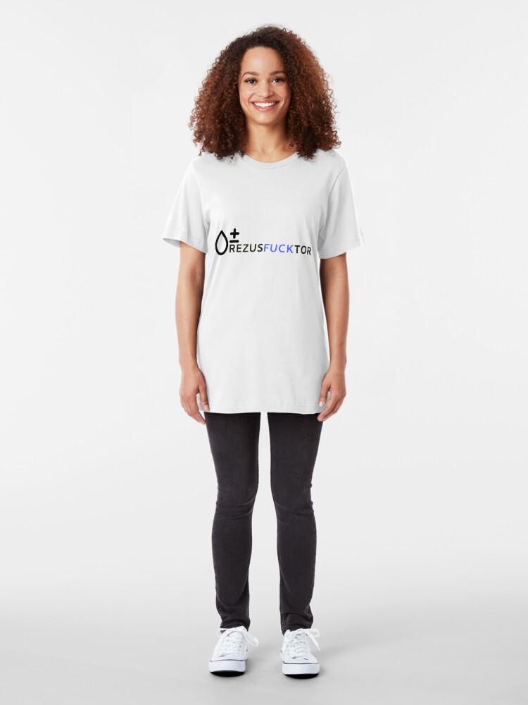 Alternate view of Rezus factor Slim Fit T-Shirt