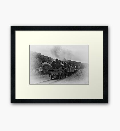 Pickering Crossing Framed Print