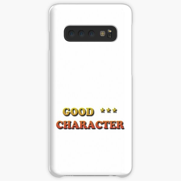 Phone Cases, Good Character Samsung Galaxy Snap Case