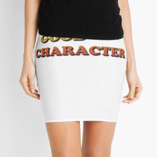 Good Character Mini Skirt