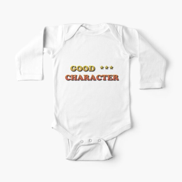 Good Character Long Sleeve Baby One-Piece