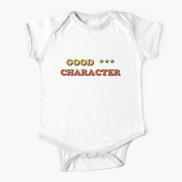 Good Character Short Sleeve Baby One-Piece