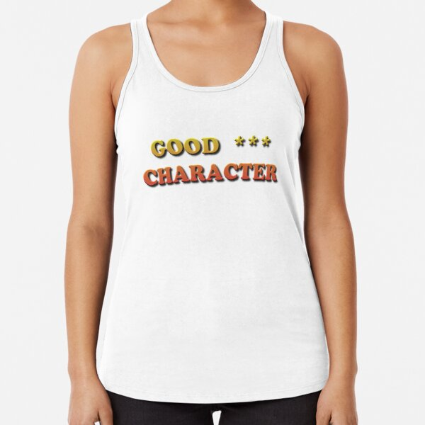 Good Character Racerback Tank Top