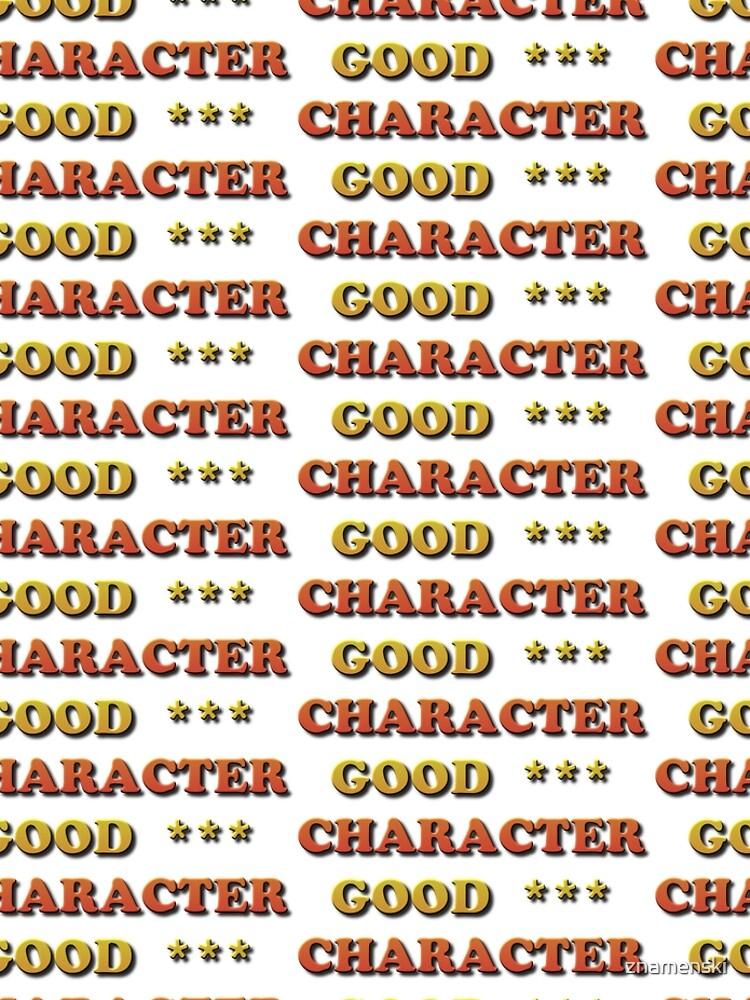 Good Character by znamenski