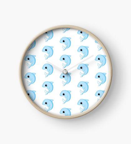 Dolphin Birthday - Have a FLIPPIN good birthday Clock