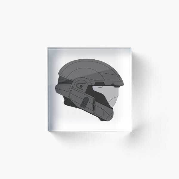 Halo 3 ODST Helmet Acrylic Block