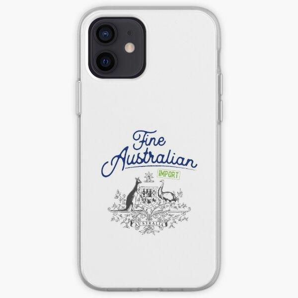 Fine Australian Import 1 Blue Green Grey iPhone Soft Case