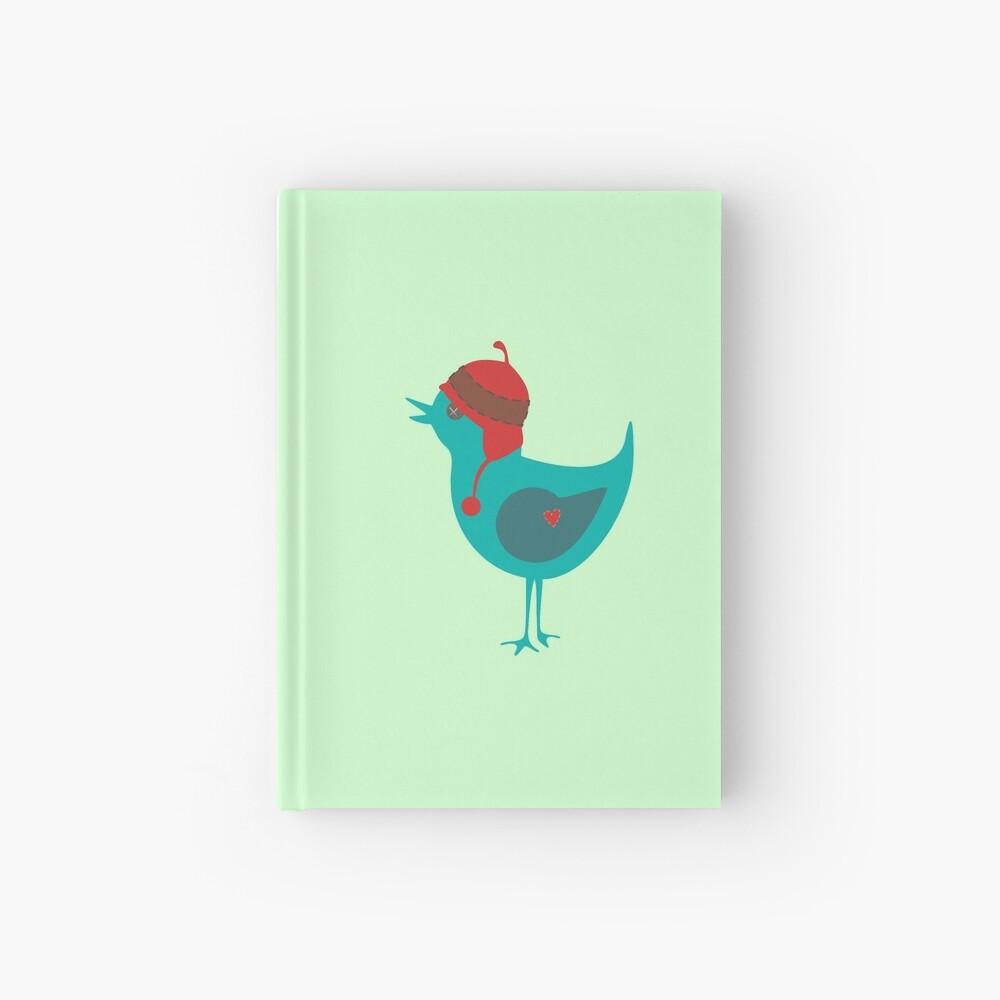 Cute Bird Hardcover Journal