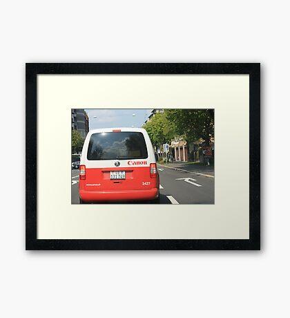 I Love Canon Framed Print