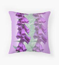 Foxglove Pattern Floor Pillow