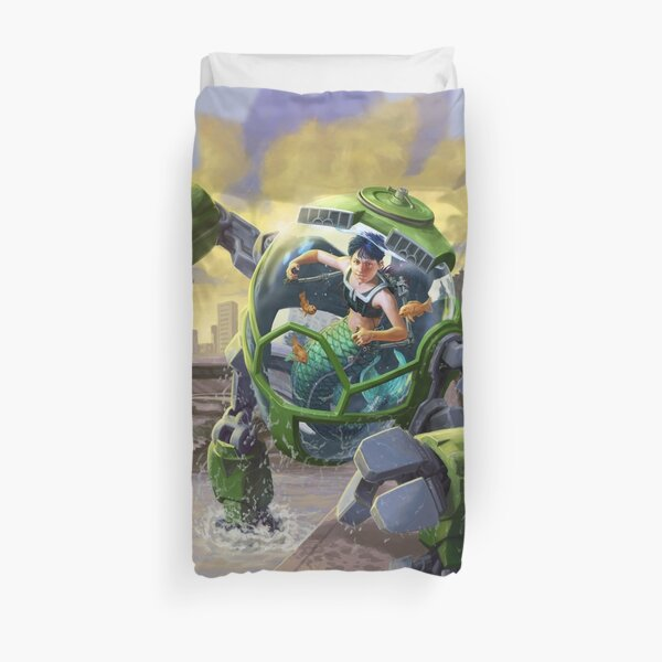 Mer-Tank: OverSea Vehicle Duvet Cover