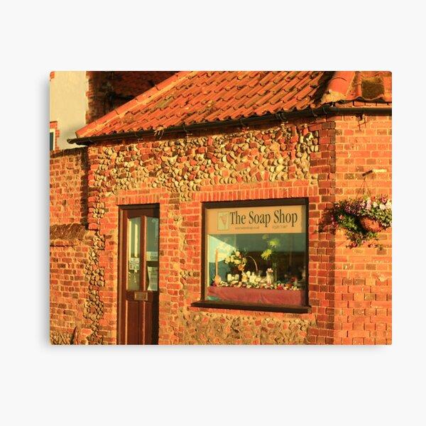 The soap shop Canvas Print