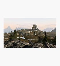 Whiterun Hold Photographic Print