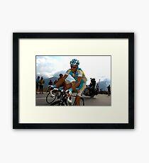 Alberto Contador Framed Print