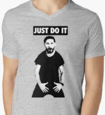 Shia LaBeouf Just Do It Men's V-Neck T-Shirt
