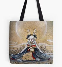 Reflect - Usagi Moon Rabbit Tote Bag