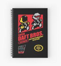 Super Daft Bros. Spiral Notebook